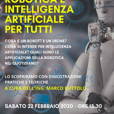 22.02 Robotica e intelligenza artificiale per tutti